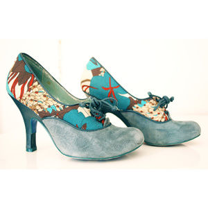 Irregular Choice heels!! suede and leather EU 36
